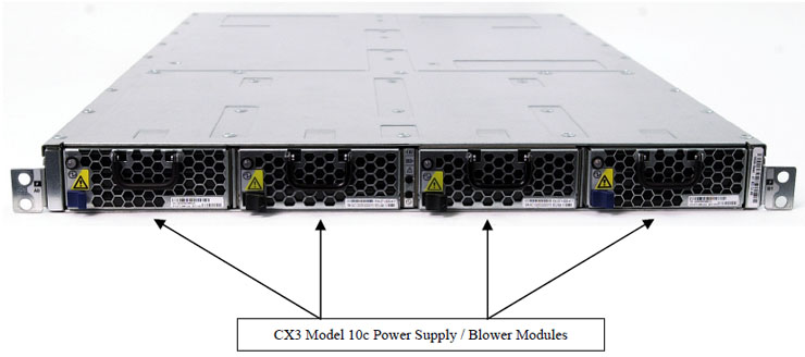 CX3-10 / CX3-10c Power Supplies and Cooling