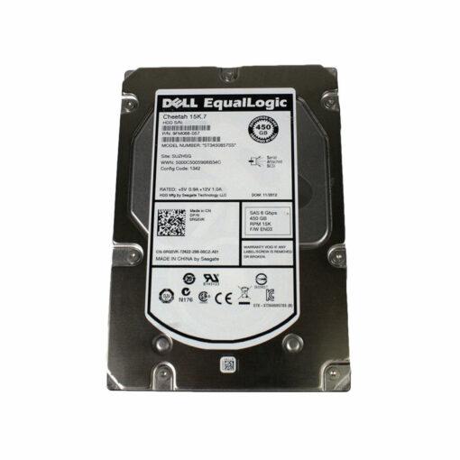 RG5VK EQUALLOGIC RG5VK DELL EQUALLOGIC 450GB 15K SAS Hard Drive ST3450857SS Dell-RG5VK-Equallogic-450GB-15k-sas-6GBPS-Drive-EXACT-PART-NUMBER-with