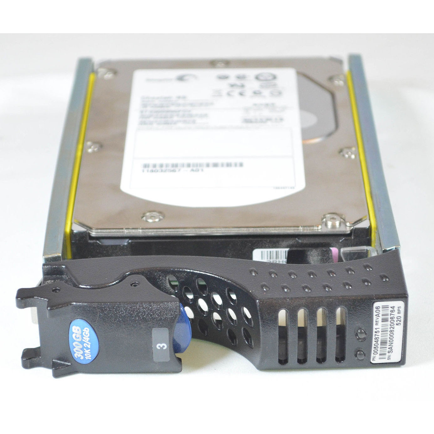 CX-4G10-300 EMC 4Gb/s 300GB 10k RPM FC Hard Drive 005048751, 005048953
