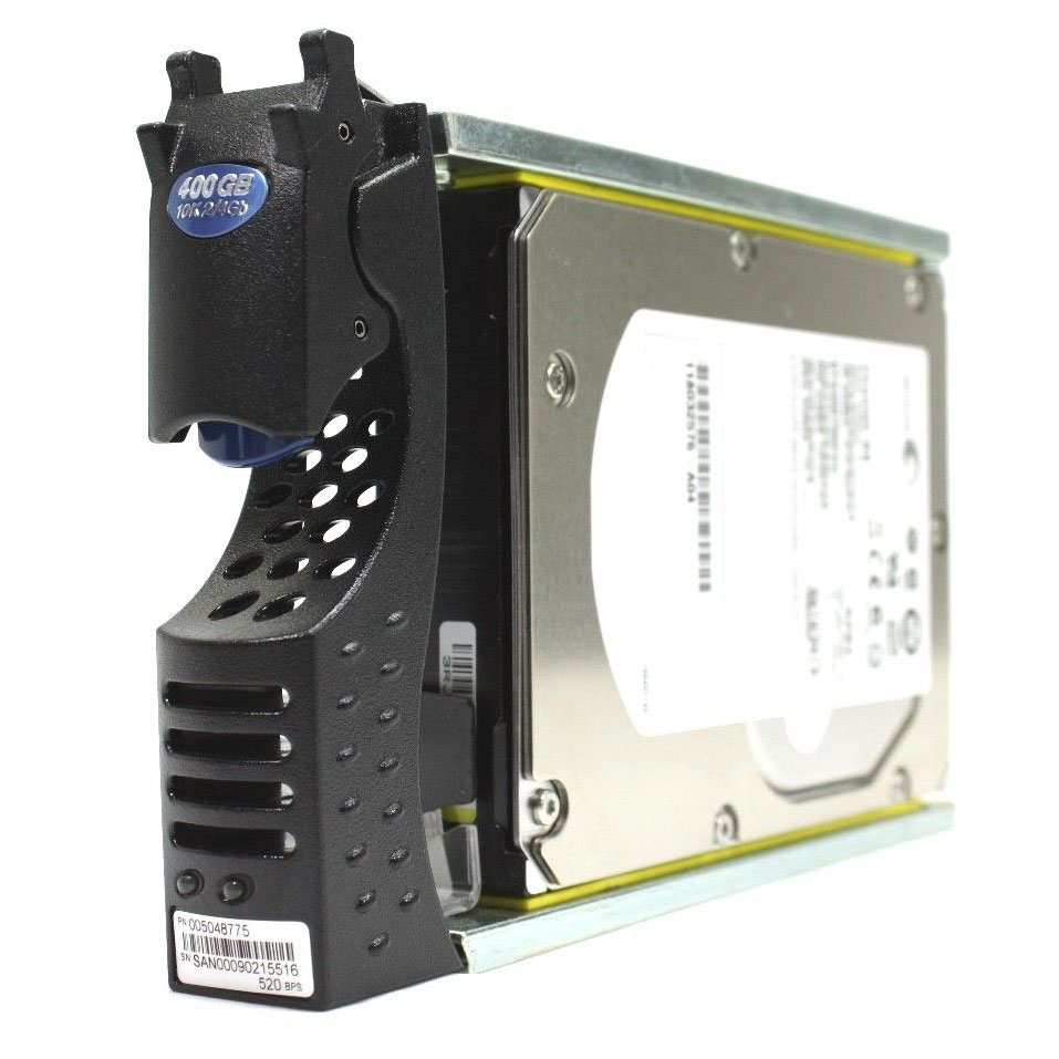 CX-4G10-400 EMC 4Gb/s 400GB 10k RPM FC Hard Drive 005048775, 118032576-A04