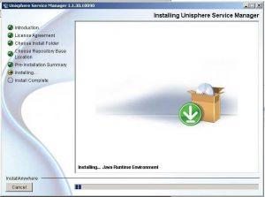 Figure 9 - Installing Java Runtime Environment