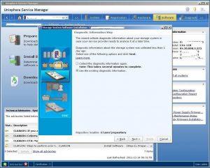 Figure 3.10 - Diagnostic Information Step - Use existing information
