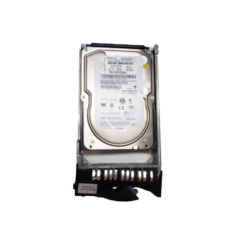 IBM 26K5260 90P1311 300GB 10K SCSI Hot-Swappable Hard Drive for IBM xSeries Servers