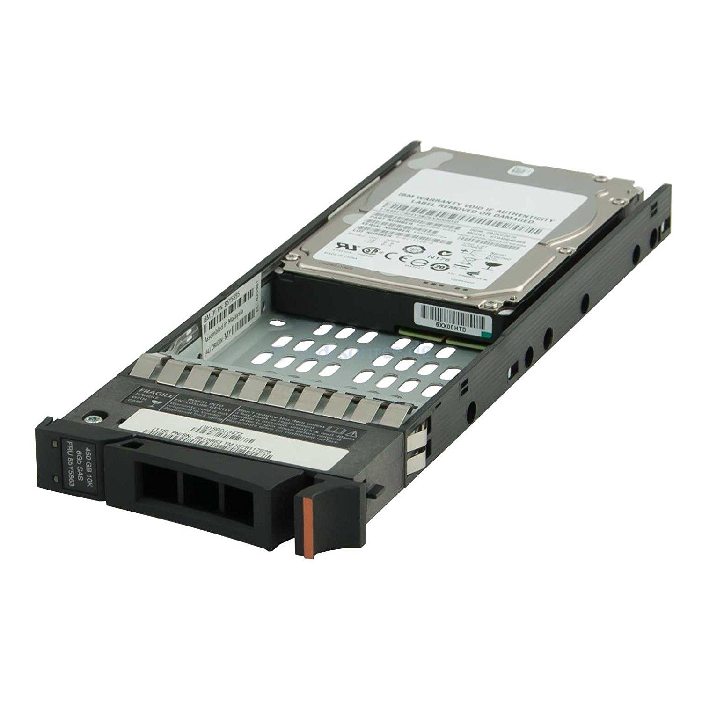 IBM 85Y5863 450GB 2.5″ 10K SAS HDD for Storwize v7000 Gen 1 - 2076-3204, 85Y5895, 00L4520, 00AR034