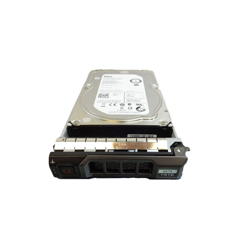 W69TH - Dell PowerEdge PowerVault 1TB 7 2k SATA HDD w/Tray - 9ZM173-136,  ST1000NM0033, 0W69TH