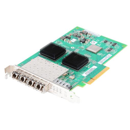 X1132A-R6 NetApp 4-port 8Gbps HBA PCIe Card w/SFP+ - 111-00481, QLE2564-NAP